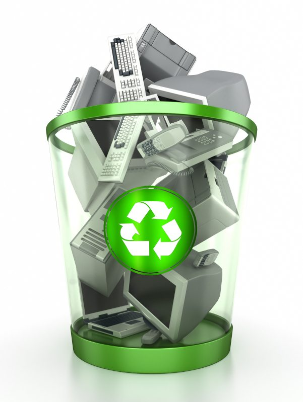 computer and e-waste recycling